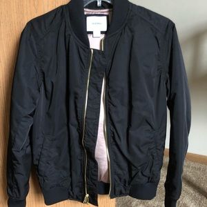 Old Navy Black bomber jacket
